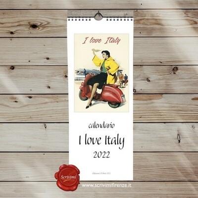 Calendar I LOVE ITALY