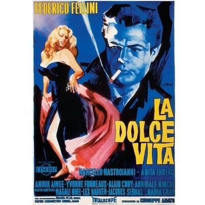 Poster LA DOLCE VITA