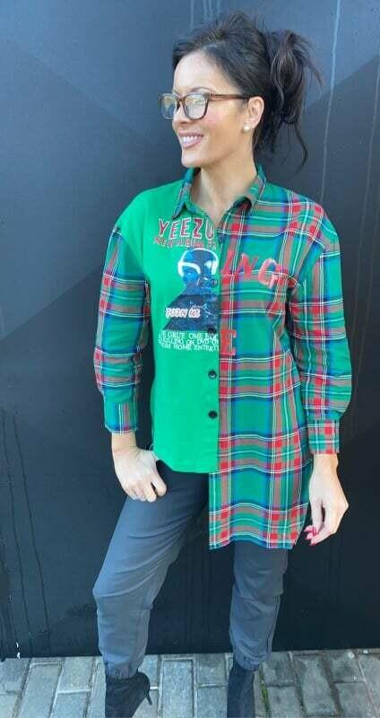 'Edgy Green Shirt'