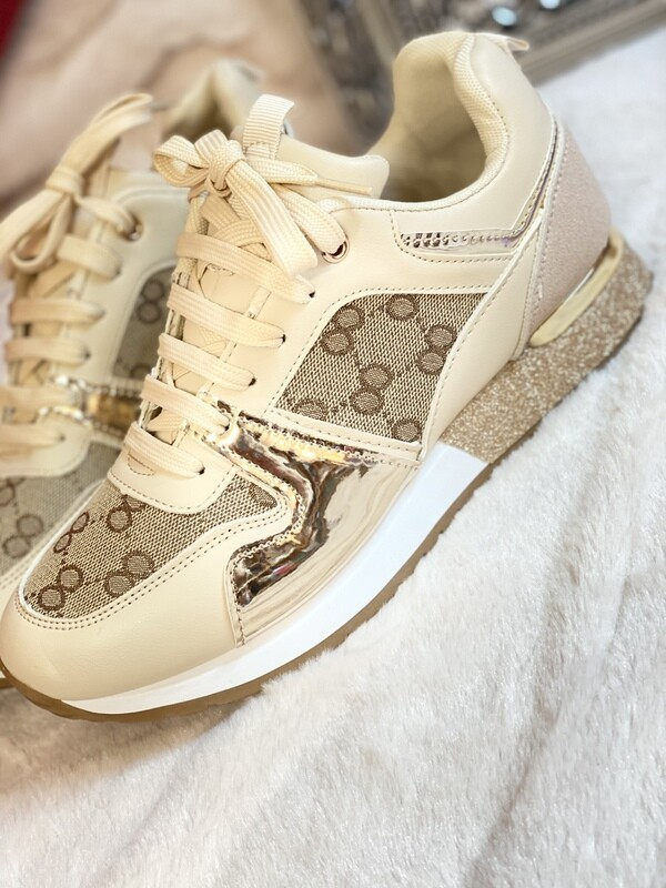 Gucci inspired trainers.