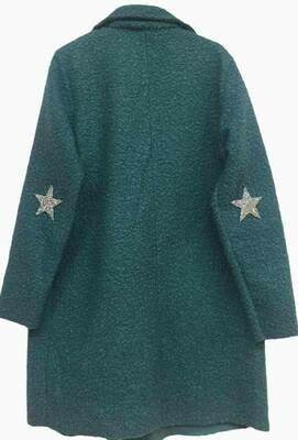 'Super-Star Coat' in Teal