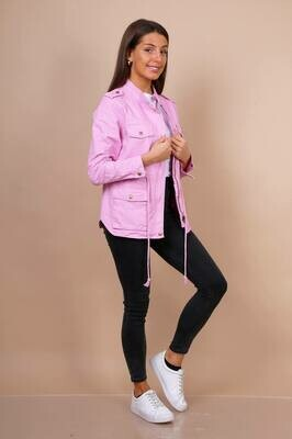 'Candy' Casual Jacket in Pink