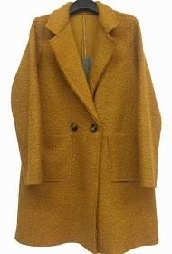 'Super-Star Coat' in Mustard