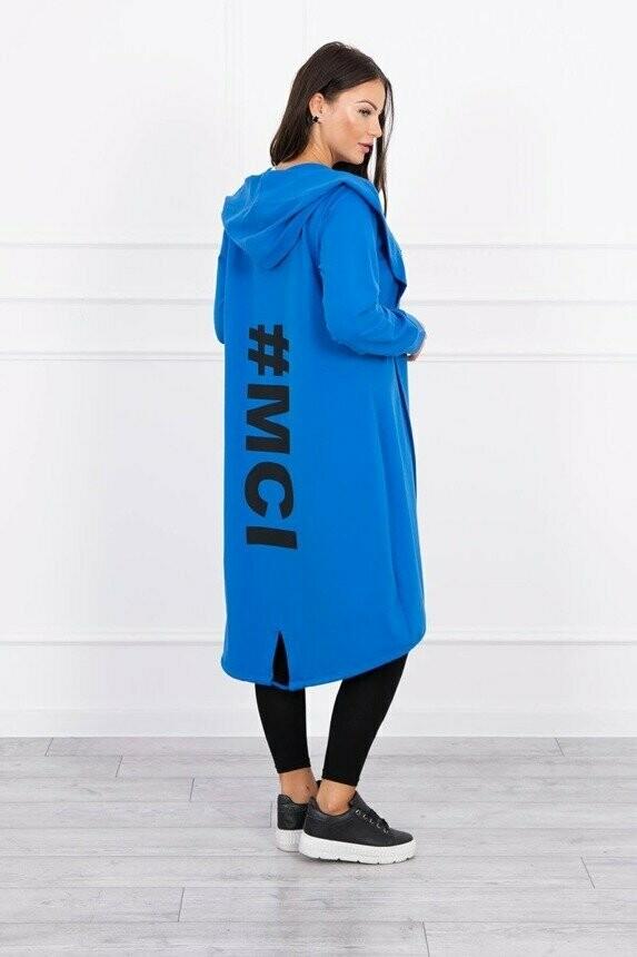 '#HashTag' Hoody in Blue