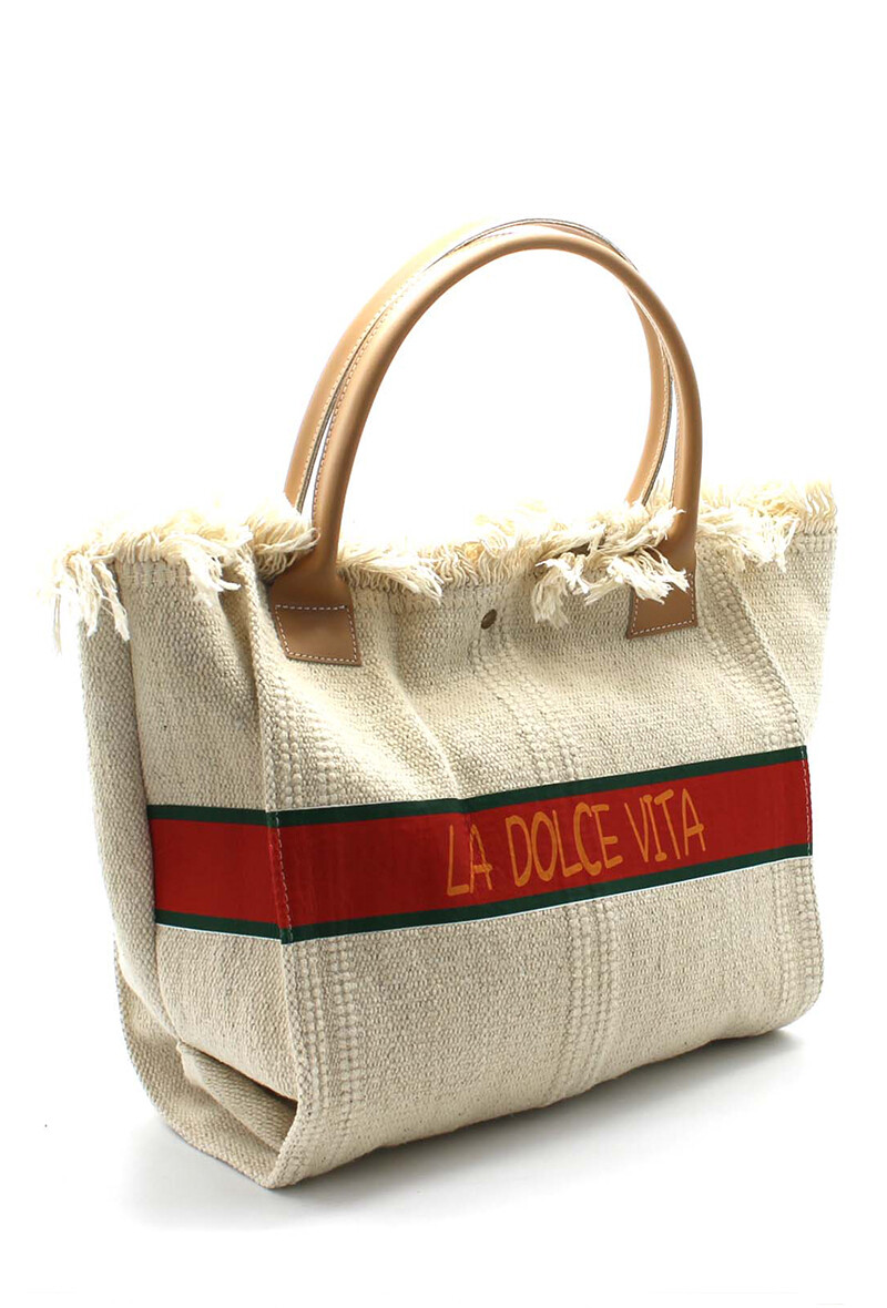 'Dolca Deluxe' French Shopper Bag