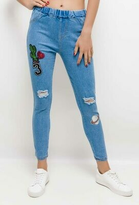 ' Kori ' Jeans with Sequin Graphics (2 Style Options)