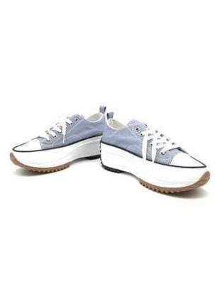 'Tika' Low Platform Sneaker in Blue