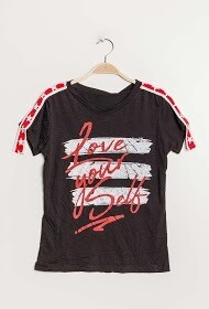 'Love Yourself Script' T-shirt