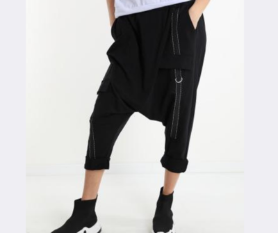 'Freedom'  Cool Casual  Pants in Black