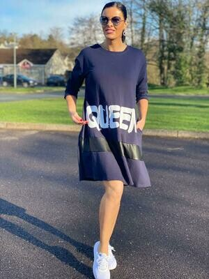 'The Queen' Loose Fit Dress