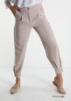 'Blake Beige' Casual Trouser