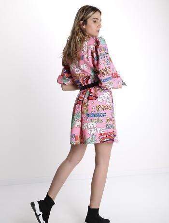 'Dakota' Dress in Pink
