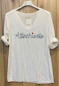 'Attachiante French Fine Knit' Easy Top in 3 Great Shades