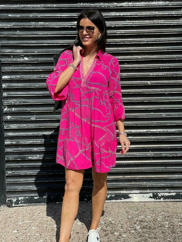 'Rosa' Shirt Dress