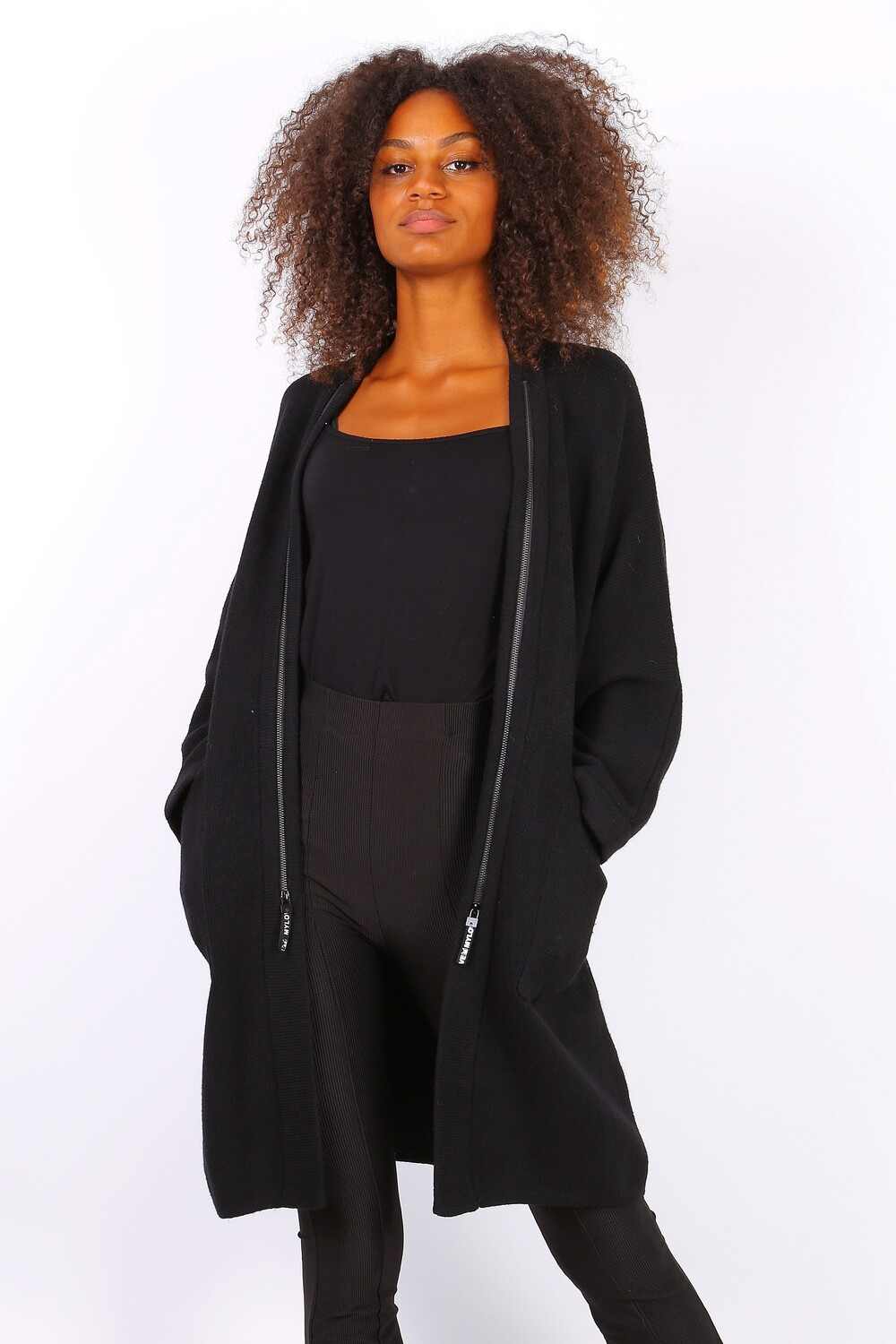 ' Ava ' Luxurious (Limited Edition ) Cardigan in Black