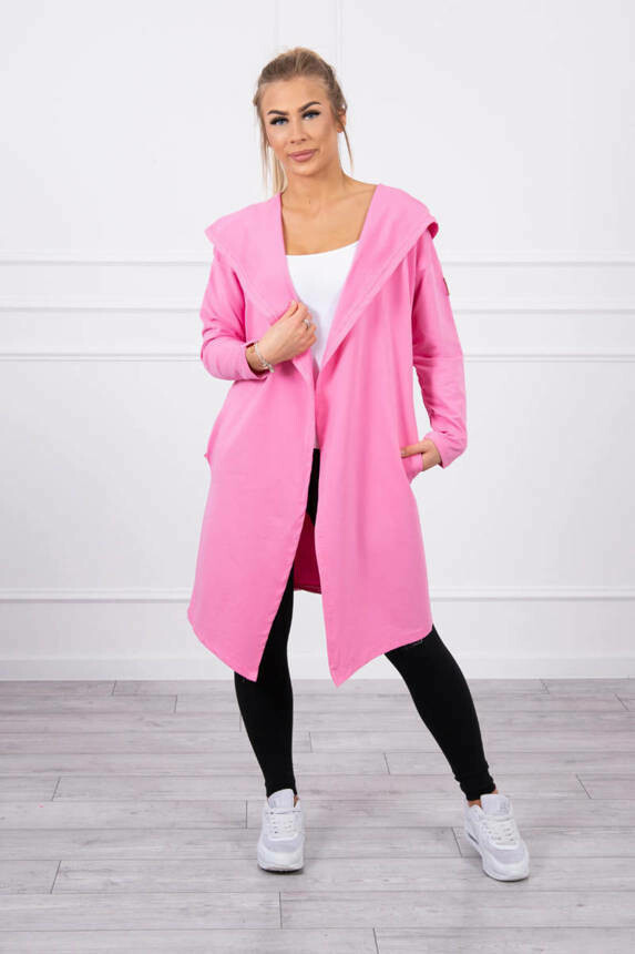 'Lulu Lightweight Hoody' in Candy Pink