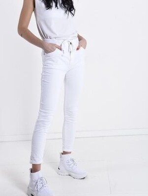 '3D Denim' Jean in White