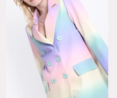 'Rainbow Blend' Blazer (Limited Range)