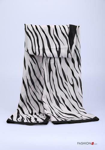 'Zia' Zebra Print Scarf
