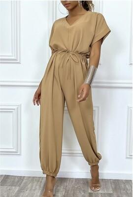 Camel 'Harlem' jumpsuit