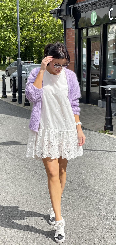 'Leah ' Lace dress