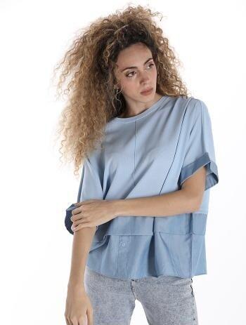 Luxury 'Satin' Knit Blouse