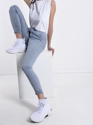 'Bow' Cotton Trousers
