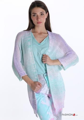Multicoloured knit Cardigan