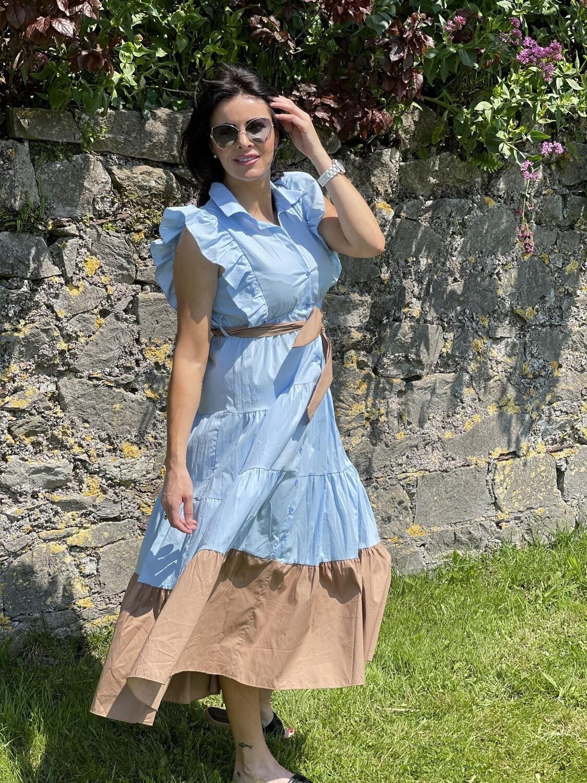 Dor Powder blue dress