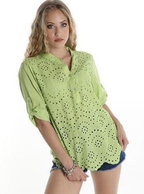 ' Lucy' lace trim Shirt