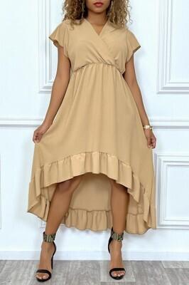 'Jamal' flounce dress