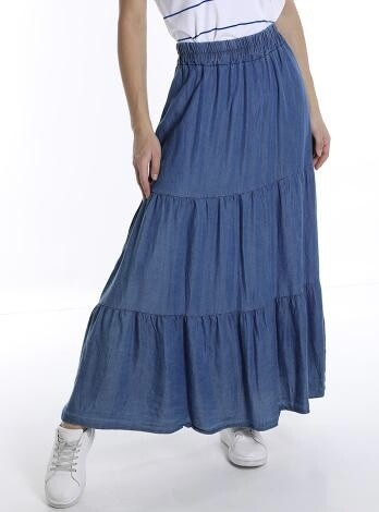 Gypsy Denim skirt