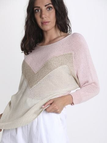 Shimmer knit