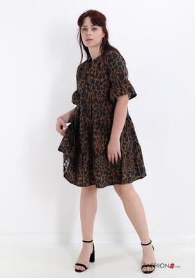 Bailey animal print dress