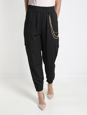 Chain detailed Trousers