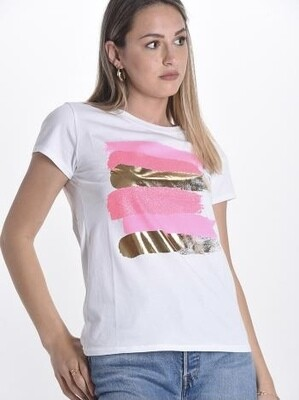 Quattro pink T-Shirt