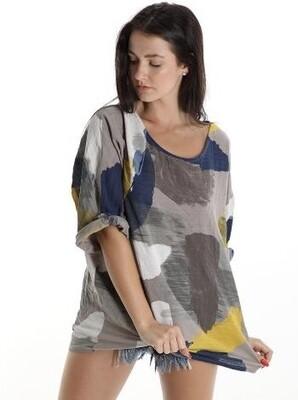 Tunic multicoloured top