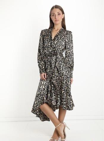 'Jacquard' Print Dress