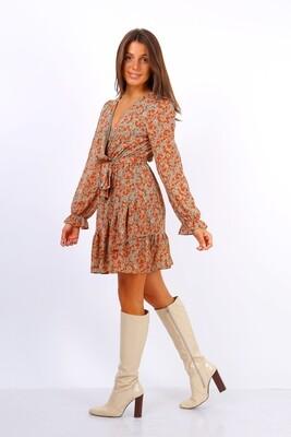 'Elsie' Floral Dress