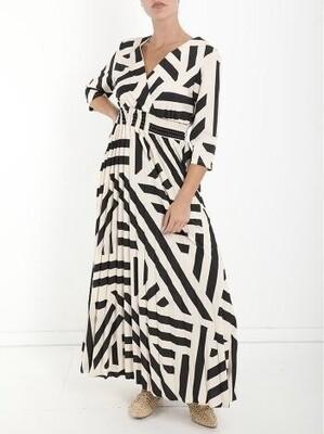 'Eliana' Stripe Dress