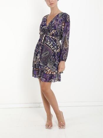 'Violet' paisley Dress