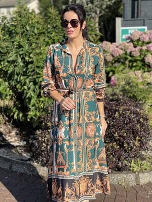 Designer Inspired Shirt Dress