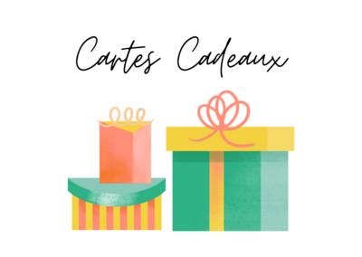 Carte cadeau (montant à choisir)