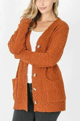 ALMOND LIBRARY CARDIGAN