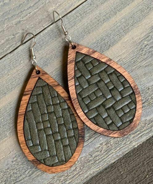 Olive Basket Weave