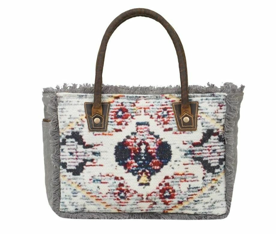 FRINGY SMALL TOTE