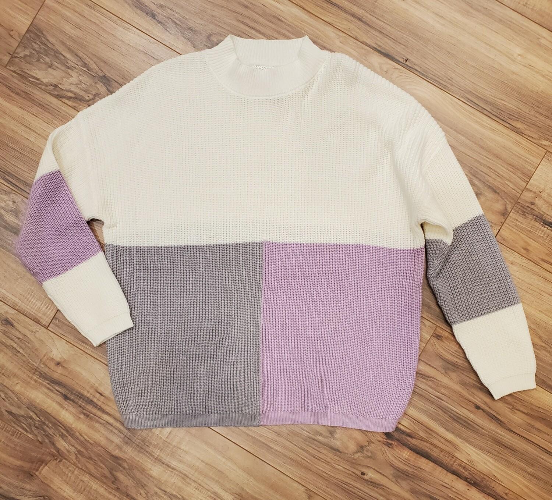 Lavender Skies Sweater