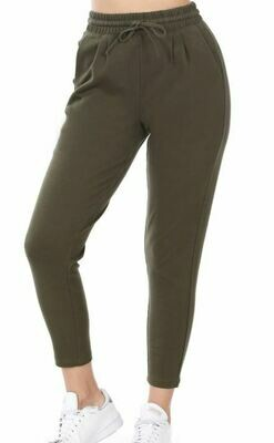 DK OLIVE ANKLE ACTIVE PANT