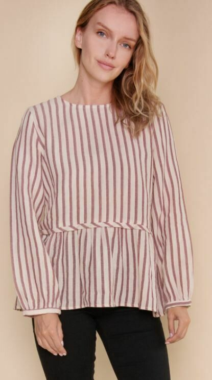 JESSI STRIPED TOP