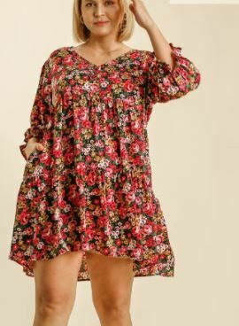 GOING WITH THE FLOW DRESS